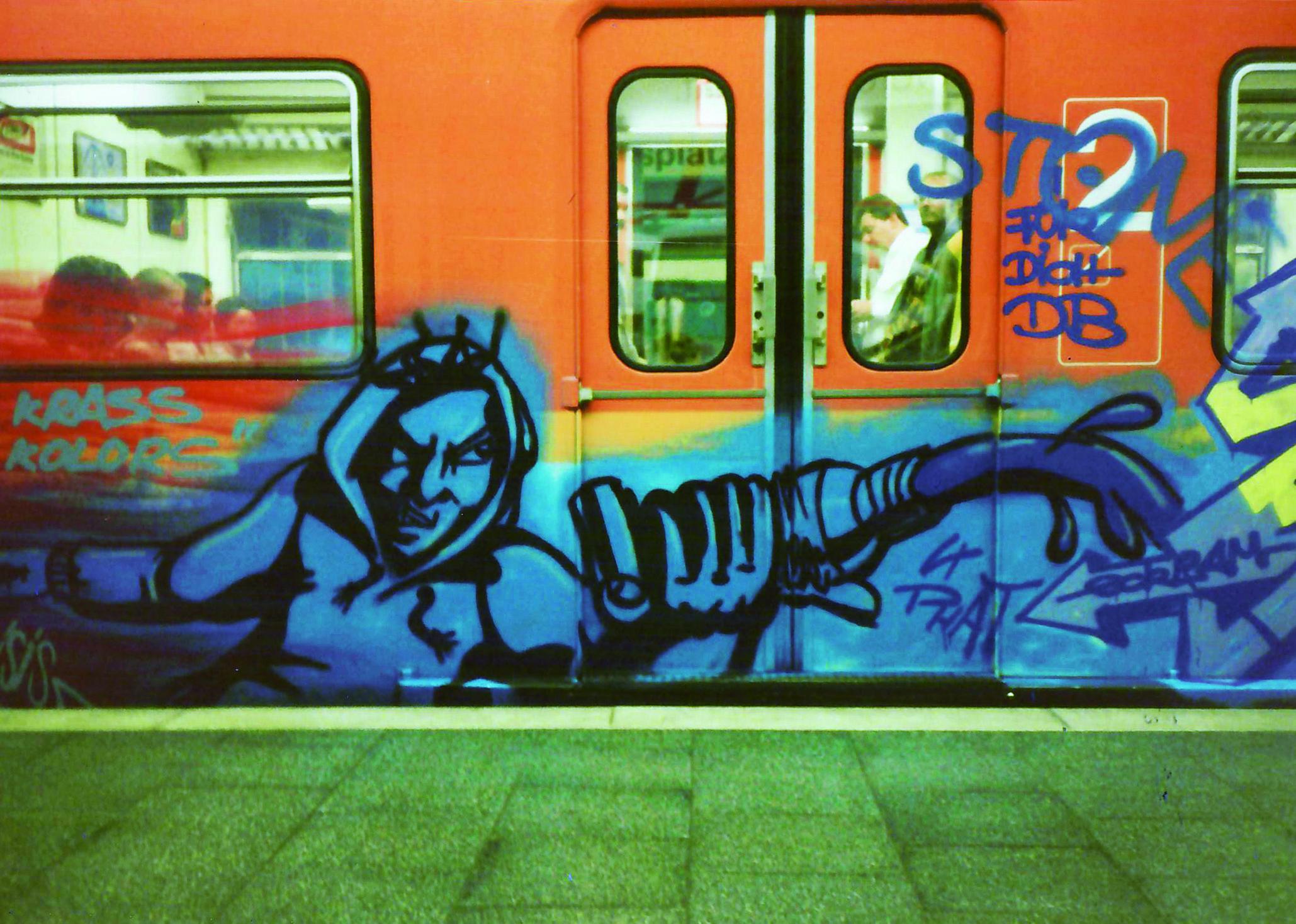 Graffiti Archivbild